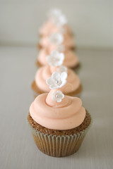 Buttercream swirl (Sweet Tiers) Tags: flower cupcake buttercream cachous