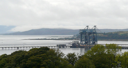Clearing clouds Clydeport