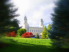 Manti Temple -  - site of hte Mormon Miracle Pageant
