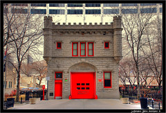 Chicago Fire Department Chicago Illinois (j glenn montano 3) Tags: red chicago truck fire illinois glenn engine 11 ambulance 98 company department montano justiniano colourartaward