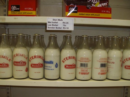 Milk in Bottles #2