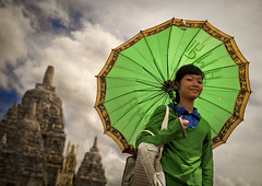 Girl with umbrella in Prambanan ruins, Java, Indonesia (Eric Lafforgue) Tags: green girl umbrella indonesia temple java ruins hasselblad explore indonesi indonesien prambanan  indonsie h3d  indonezja lafforgue indoneesia   endonezya indonezija    indonzia indonezia 704705 indnesa  indonzija indonezio indoneziya indonisa