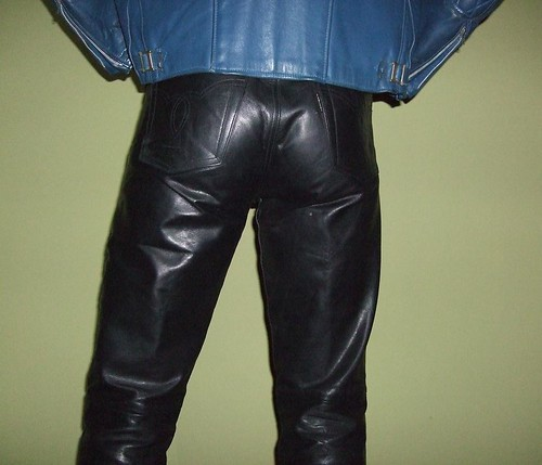 gay man men ass beautiful leather belt shiny boots crotch jacket bisexual amateur slender androgynous fullyclothed leatherass blueleatherjacket shinyclothes maninleatherpants heavyleatherjacket maleleathermodel maninleather glamateur