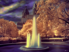 fountain (paul bica) Tags: pictures park trees summer sky toronto hot color colour art water fountain colors beautiful beauty clouds digital photoshop buildings ir outdoors photography photo yahoo google amazing graphics pix exposure flickr downtown colours image photos pages pics top picture august pic images best collection photograph clipart infrared thumb sensational thumbnails msn flikr brilliant flick dex flicker screensavers platinumphoto dexxus 20080928dt4475hdrblue worldsartgallery