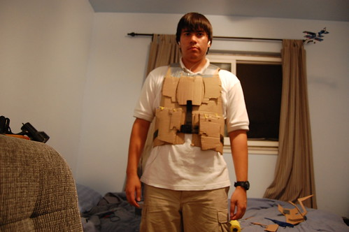 how to make armor out of cardboard