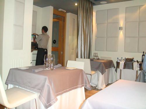Salón del restaurante - Detalle de mesa