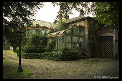 Chateau R Greenhouse (Martino ~ NL) Tags: old urban building 20d abandoned canon photography belgium decay exploring neglected greenhouse exploration martino decayed decaying urbanexploring ue urbex mmgzegwaard chateaur