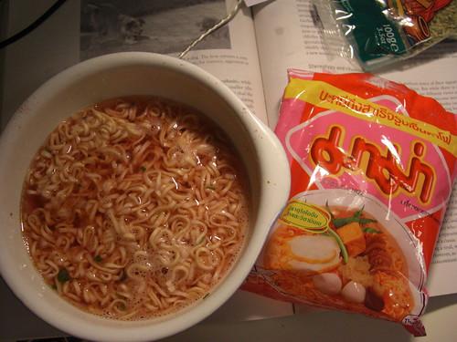 Ramen noodles with Kimchi flavour