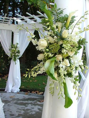2965789799 a6400486ae 141 ideias de casamento verde e branco