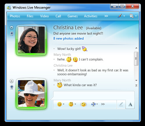 MSN do Windows 7