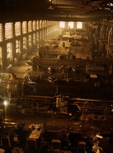 [フリー画像] 乗り物, 電車・列車, 蒸気機関車・SL, アメリカ合衆国, 201007152300