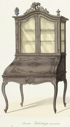 004-Bureau-Biblioteca estilo Luis XV
