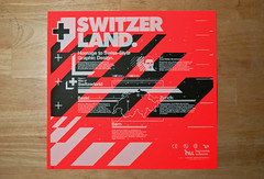 Switzer Land Screenprint (_Untitled-1) Tags: orange poster switzerland screenprint neon silk screen fluorescent land prints osaka urbano network humano switzer