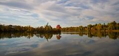 Unique (Aqua Form) Tags: sky lake ontario fall colours provincialpark