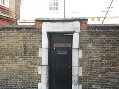 Schoolkeeper. (John.P.) Tags: door uk london schoolhouse guesswherelondon se1 copperfieldstreet gwl schoolkeeper