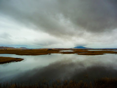 Rain - Klamath Basin National Wildlife Refuge (ex_magician) Tags: pictures rain oregon landscape lumix photo interesting image photos picture panasonic adobe dsc wildliferefuge lightroom lavabedsnationalmonument moik klamathfalls adobelightroom klamathbasinnationalwildliferefuge lumixaward tz5 dmctz5