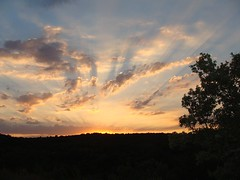 French Sunset (Sarah K Mc) Tags: sunset summer france sony ardeche dsch3 sonydsch3 worldwidelandscapes absolutelystunningscapes