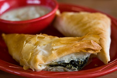 Spanakopita @ King David's Restaurant