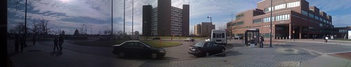 Nice day at UB (panorama)