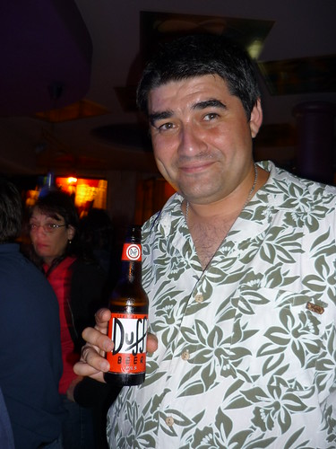 Duff, la cerveza de Homer