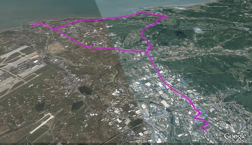 20081121竹圍航跡