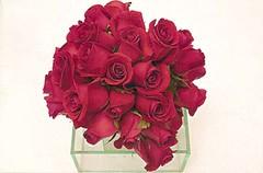 3050332142 4da5d9f85c m d Faça você mesma: Arranjo de mesa de casamento com rosas