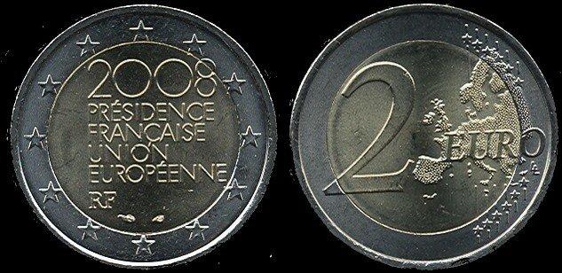 2 Euro France2008