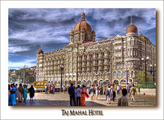 Taj Mahal Hotel (Kris Kros) Tags: india news by photoshop fire photography hotel photo high gun shot dynamic explosion attack terrorist taj mahal spire ap kris taking mumbai range processed hdr gautam kkg singh hostage cs3 photomatix kros kriskros 1xp of quartierlatin1968 kkgallery