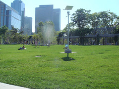 Christopher Columbus Park, built over Boston's Big Dig (by: Michael Romero, creative commons license)