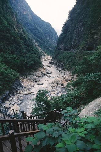 Taroko Gorge 02 錐麓古道入口