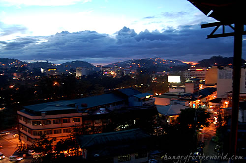 Oh My Gulay Baguio - View of Baguio