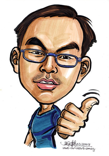 Caricature for Singapore Armed Forces 4