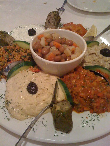 Large Meze Platter from Cafe Ephesus