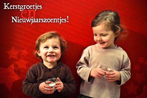 Kerstgroetjes en nieuwjaarszoentjes (2)!