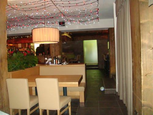 Vista del interior de la Taverna