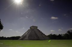 Chichen-Itza (noamgalai) Tags: history nature grass sunrise mexico photo maya picture yucatan chichenitza photograph mayan tample piramide    noamg mayaruins noamgalai