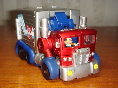 Transformers Mickey Mouse Autobot