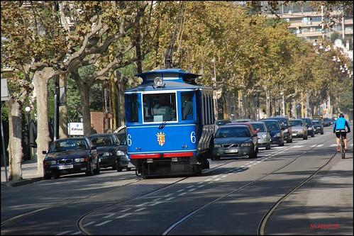 Tramvia Blau by Miguel Allué Aguilar