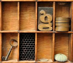 Knick knacks (HagleyParkJon) Tags: miniatures key collectables printerstray