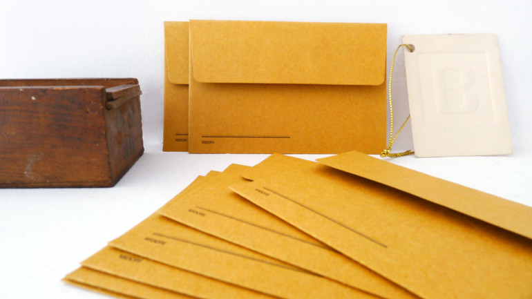KRAFT envelopes (small/orange)