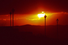 Sunset (seyed mostafa zamani) Tags: life city light sunset sky cloud sun mountain abstract man color nature night photography photo spring colorful photographer sad iran photos d azerbaijan east concept wish 450 grief        2011    marand