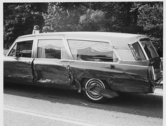 Gross Mortuary ambulance involved in wreck on highway 70E on 6-17-71.  Injured ambulance attendant lies on stretcher in back of the ambulance awaiting more ambulances. Mouse over the text boxes to learn more. (Dr. Mo) Tags: 1969 1971 pcs accident injury 1966 cadillac ambulance 1967 medicine arkansas pontiac 1970 1968 wreck emergency 1972 bls ems emt siren 1973 hearse combination hotsprings funeralhome firstaid injuries emergencylights consort mortuary fatality funeralcoach accidentscene mortician emergencymedicine staroflife ambulancedriver ambulancewreck billdever deathcare drmo caruthfuneralhome jimmoshinskie grossmortuary hearseambulance funeralcustoms professionalcarsociety beaconray professionalvehicle scenesafety