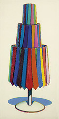 Wayne Thiebaud, Tie Rack, 1969, Sold for $3,401,000 at Christie's November 12 2007