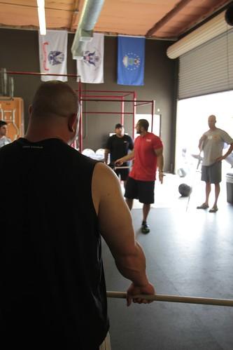 Jason Khalipa, Mark Bell, & Jeff Leonard