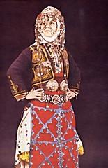 Young Türkmen woman in traditional clothes, Merkez Kapıkaya, Turkey (ali eminov) Tags: turkmencostumes headress headscarves women turkmen books türkmengiyimi authors sabihatansuğ mybooks turkey folkcostumes fabrics jewelry