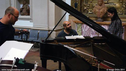 La polvere di Morandi / Giorgio Morandi's Dust | Backstage Soundtrack Recording #20