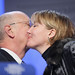 Klaus Schwab, Emma Thompson - World Economic Forum Annual Meeting Davos 2008