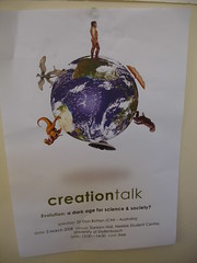 Creation Talk, 5 March