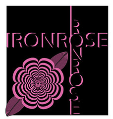 Ironrose Logo (faith goble) Tags: art rose illustration digital advertising logo graphicdesign artist photographer bluegrass drawing kentucky ky creativecommons poet writer illustrator vector adobeillustrator bowlinggreenky bowllinggreen faithgoble grafixer ccbyfaithgoble gographix faithgobleart