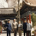 1983 kimata and montgomery)prof. Ji, John and Julie Shaw, Kevin Kimata, Margaret Montgomery - China 1985